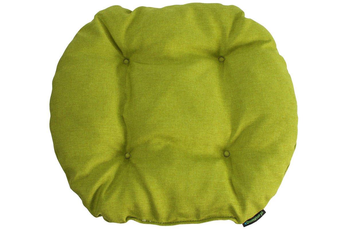 Poduszka na krzesło KAMILA 43 x 40 cm limonka