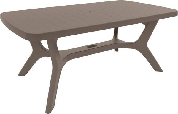 Duży stół ogrodowy plastikowy Keter BALTIMORE - cappuccino