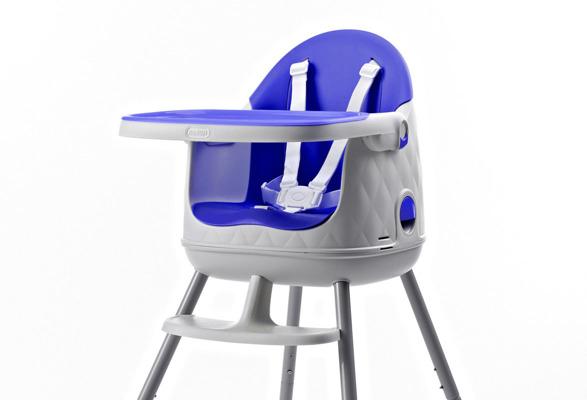 Krzesełko do karmienia 3w1 MULTIDINE Keter Curver - fioletowe