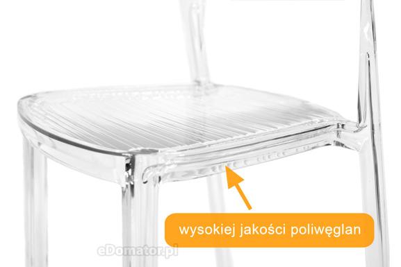 Krzesło plastikowe FEDRA