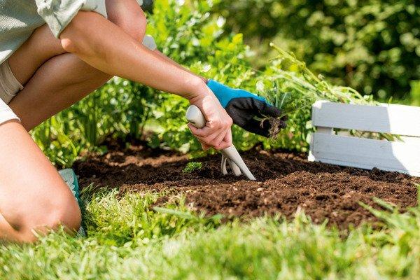 Mały zestaw narzędzi ogrodowych PASTEL ERGO - błękitny