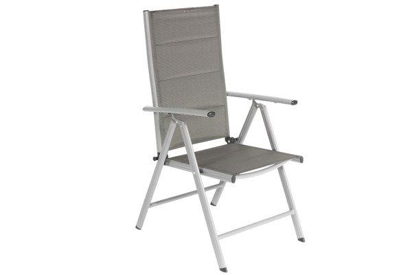 OUTLET - Krzesło ogrodowe MODENA  - Srebrne
