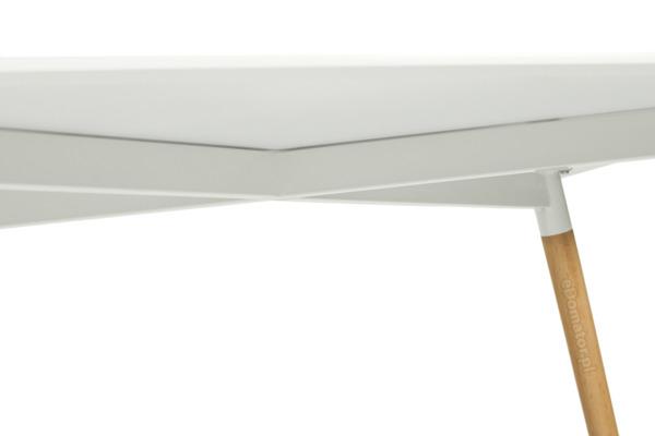 OUTLET - biały stół MEDIOLAN 120x80