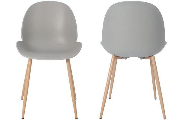 OUTLET - krzesło do jadalni GALA - szare