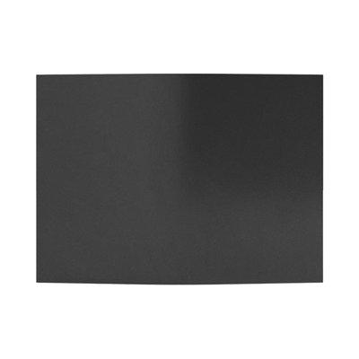 Obrzeże trawnikowe ogrodowe proste 15 cm x 9 m - czarne