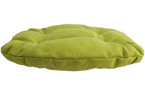 Poduszka na krzesło KAMILA 43 x 40 cm - limonka