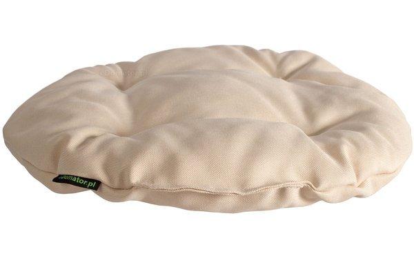 Poduszka okrągła na krzesło OFELIA 40 cm - kremowa