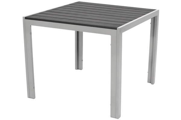 Stół ogrodowy aluminiowy MODENA 90 - Czarny