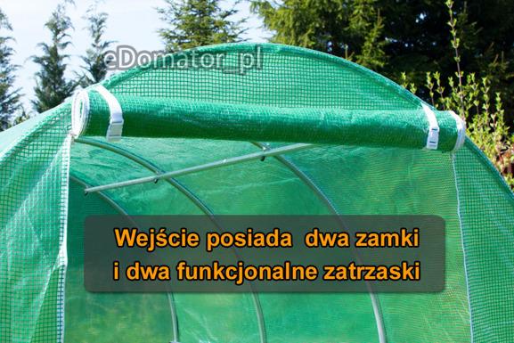 WYPRZEDAŻ! - Tunel Foliowy 2x4x2 - 8 m2