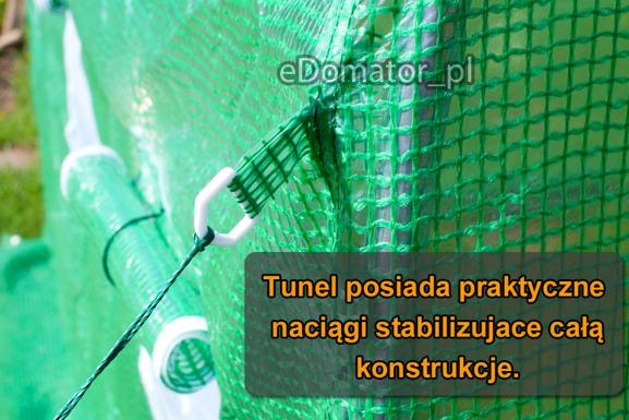 WYPRZEDAŻ! -Tunel Foliowy 3x4x2 - 12 m2