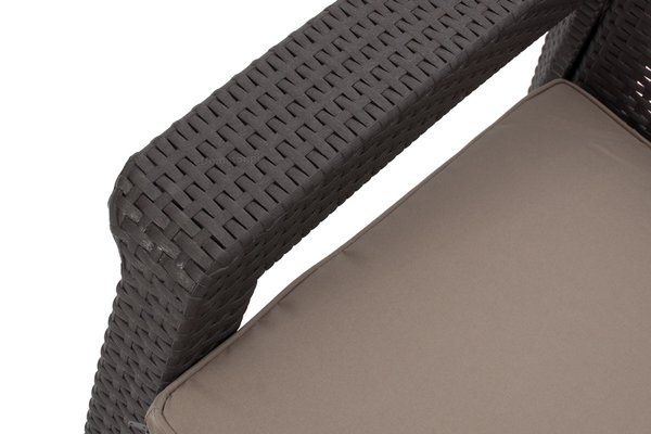 Zestaw wypoczynkowy CORFU SET MAX 5-osobowy - brąz