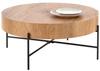 Duży okrągły stolik kawowy BROOKLYN - dąb